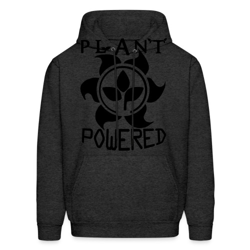 Plant Powered Neon Green Tee - Men's Hoodie