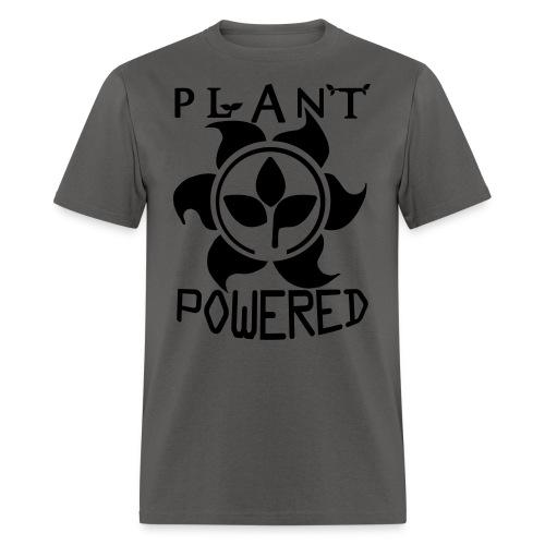 Plant Powered Neon Green Tee - Men's T-Shirt