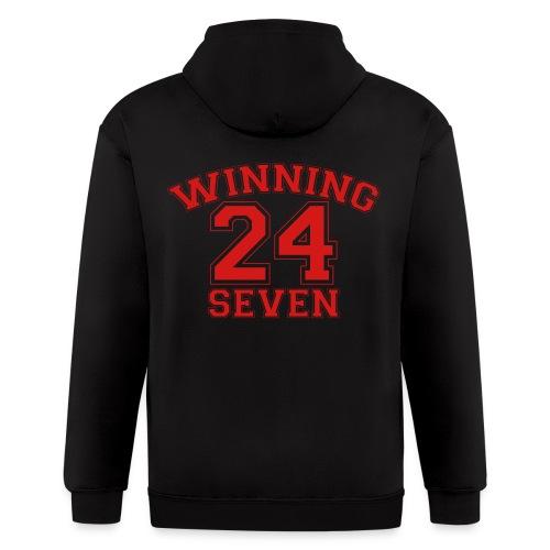 Winning 24 Seven 24/7 - Men's Zip Hoodie
