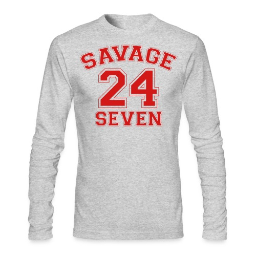 Savage 24 Seven 24/7 - Men's Long Sleeve T-Shirt by Next Level