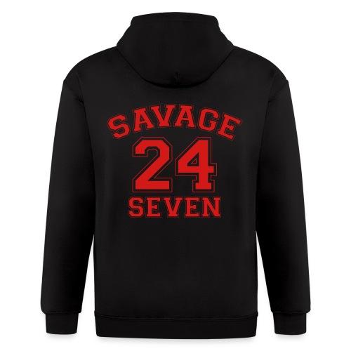 Savage 24 Seven 24/7 - Men's Zip Hoodie
