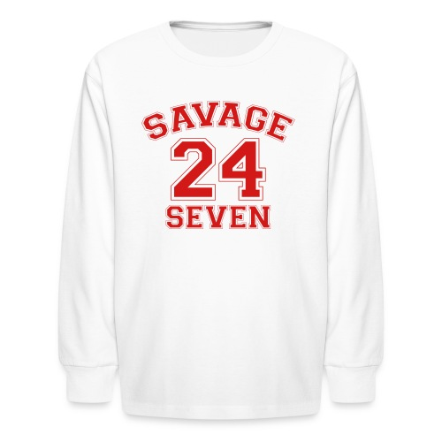 Savage 24 Seven 24/7 - Kids' Long Sleeve T-Shirt