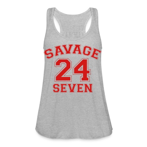 Savage 24 Seven 24/7 - Women's Flowy Tank Top by Bella