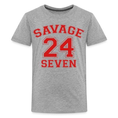 Savage 24 Seven 24/7 - Kids' Premium T-Shirt