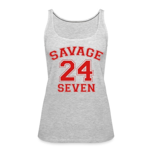 Savage 24 Seven 24/7 - Women's Premium Tank Top