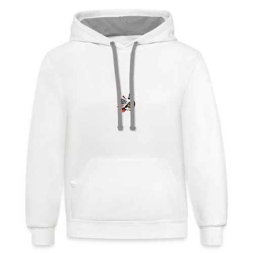 I move to the groove of the People's Director - coffee mug - Contrast Hoodie