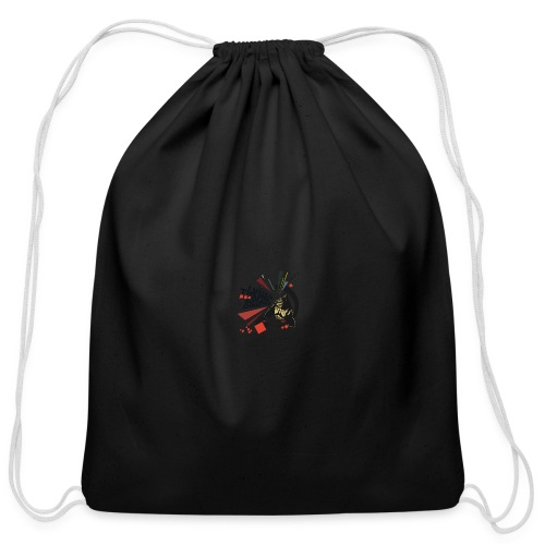 I move to the groove of the People's Director - coffee mug - Cotton Drawstring Bag