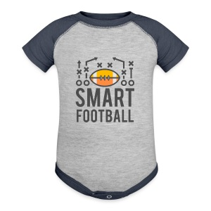 Smart Football Classic T-Shirt - Baby Contrast One Piece