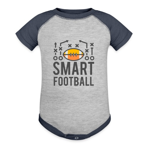 Smart Football Classic T-Shirt - Contrast Baby Bodysuit