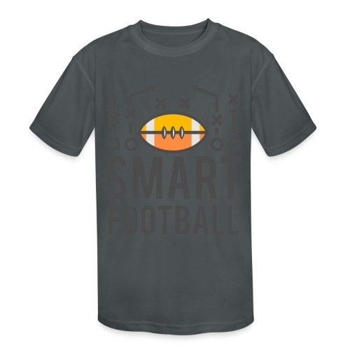 Smart Football Classic T-Shirt - Kid's Moisture Wicking Performance T-Shirt