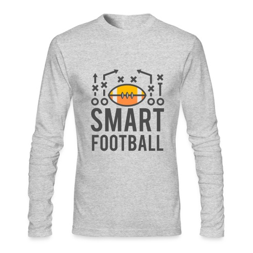 Smart Football Classic T-Shirt - Men's Long Sleeve T-Shirt by Next Level