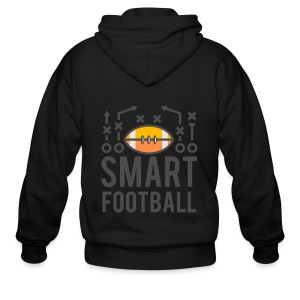 Smart Football Classic T-Shirt - Men's Zip Hoodie