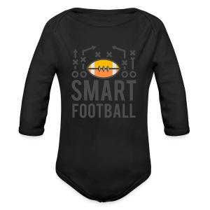 Smart Football Classic T-Shirt - Long Sleeve Baby Bodysuit