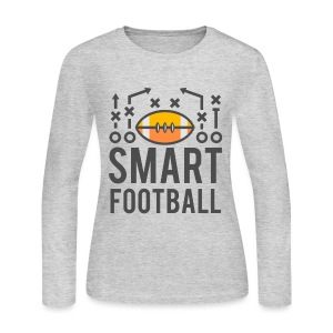 Smart Football Classic T-Shirt - Women's Long Sleeve Jersey T-Shirt