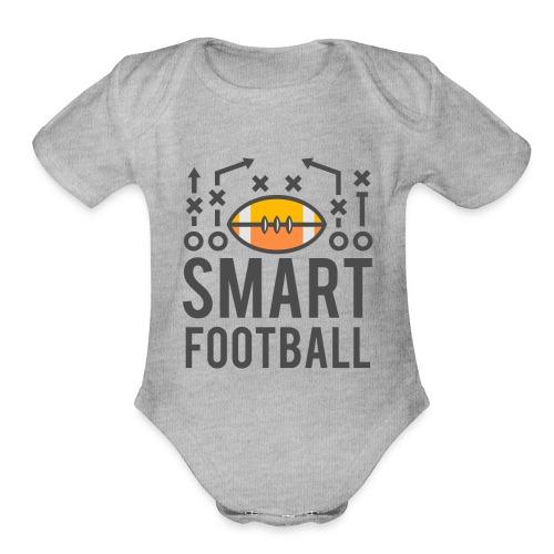 Smart Football Classic T-Shirt - Organic Short Sleeve Baby Bodysuit