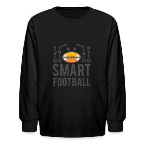 Smart Football Classic T-Shirt - Kids' Long Sleeve T-Shirt
