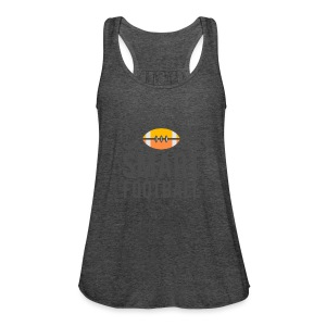 Smart Football Classic T-Shirt - Women's Flowy Tank Top by Bella
