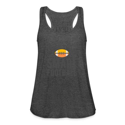 Smart Football Classic T-Shirt - Women's Flowy Tank Top by Bella