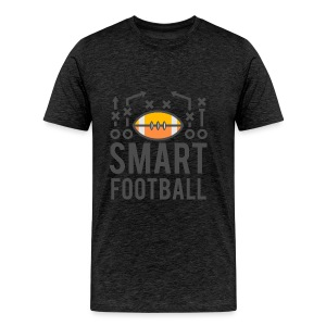 Smart Football Classic T-Shirt - Men's Premium T-Shirt