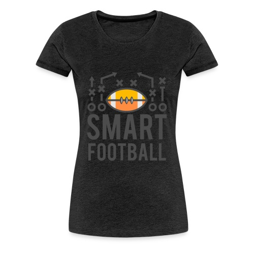 Smart Football Classic T-Shirt - Women's Premium T-Shirt
