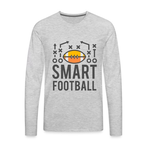 Smart Football Classic T-Shirt - Men's Premium Long Sleeve T-Shirt
