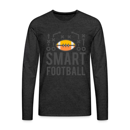 Smart Football Classic T-Shirt - Men's Premium Long Sleeve T-Shirt