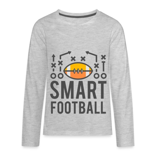 Smart Football Classic T-Shirt - Kids' Premium Long Sleeve T-Shirt