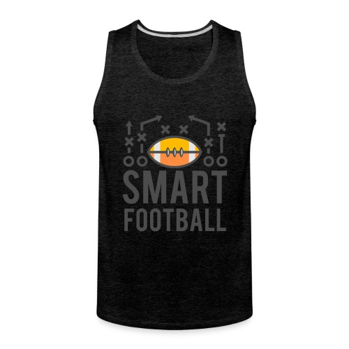 Smart Football Classic T-Shirt - Men's Premium Tank