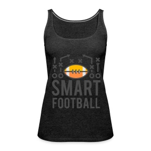 Smart Football Classic T-Shirt - Women's Premium Tank Top