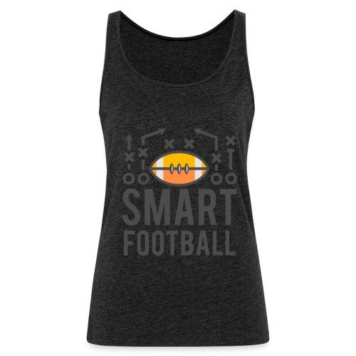 Smart Football Classic T-Shirt - Women's Premium Tank Top