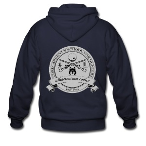 Chris Argent's School for Hunters - Crew-neck - Men's Zip Hoodie