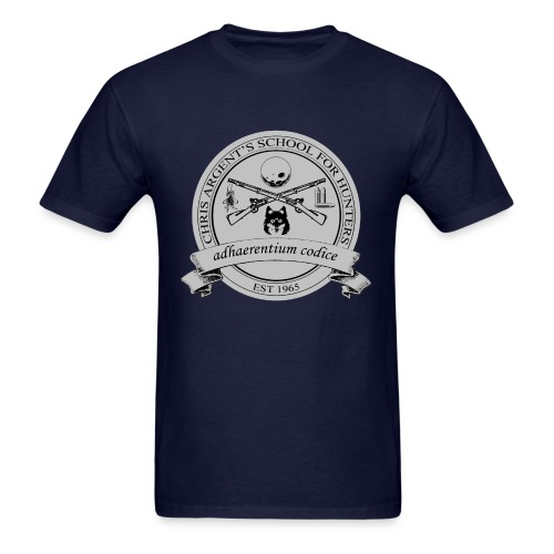 Chris Argent's School for Hunters - Crew-neck - Men's T-Shirt