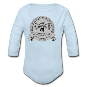 Chris Argent's School for Hunters - Crew-neck - Long Sleeve Baby Bodysuit