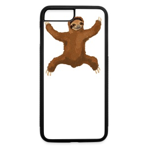 Sloth Love Hug 5 Large Buttons - iPhone 7 Plus/8 Plus Rubber Case