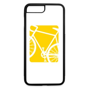 Bike Bicycling Biking Mug Orange - iPhone 7 Plus/8 Plus Rubber Case