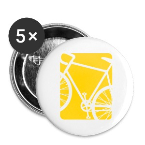 Bike Bicycling Biking Mug Orange - Small Buttons