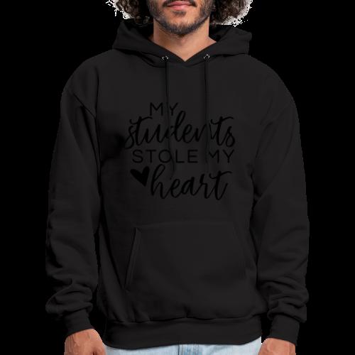 My Students Stole My Heart | Metallic Silver - Men's Hoodie