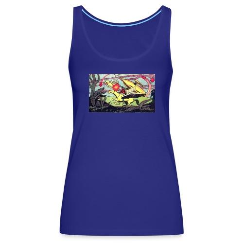 Space Western - Women's Premium Tank Top