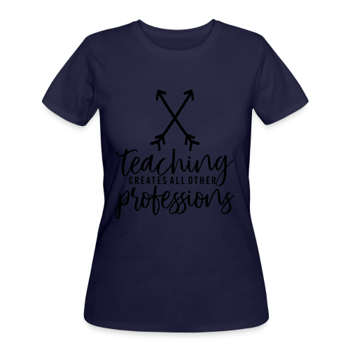 Teaching Creates All Other Professions - Women's 50/50 T-Shirt