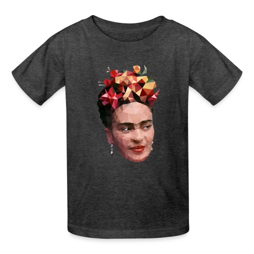 Low Poly Frida T-shirt 2 - Kids' T-Shirt
