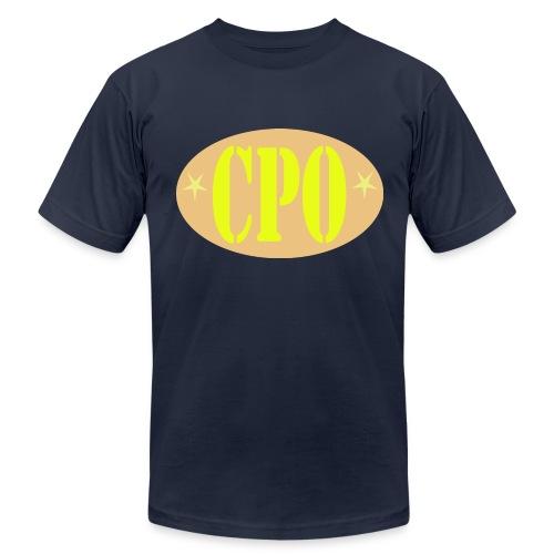 US Navy CPO Chief Petty Officer Logo Shirt - Men's Fine Jersey T-Shirt