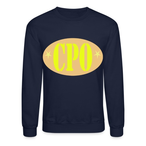 US Navy CPO Chief Petty Officer Logo Shirt - Crewneck Sweatshirt