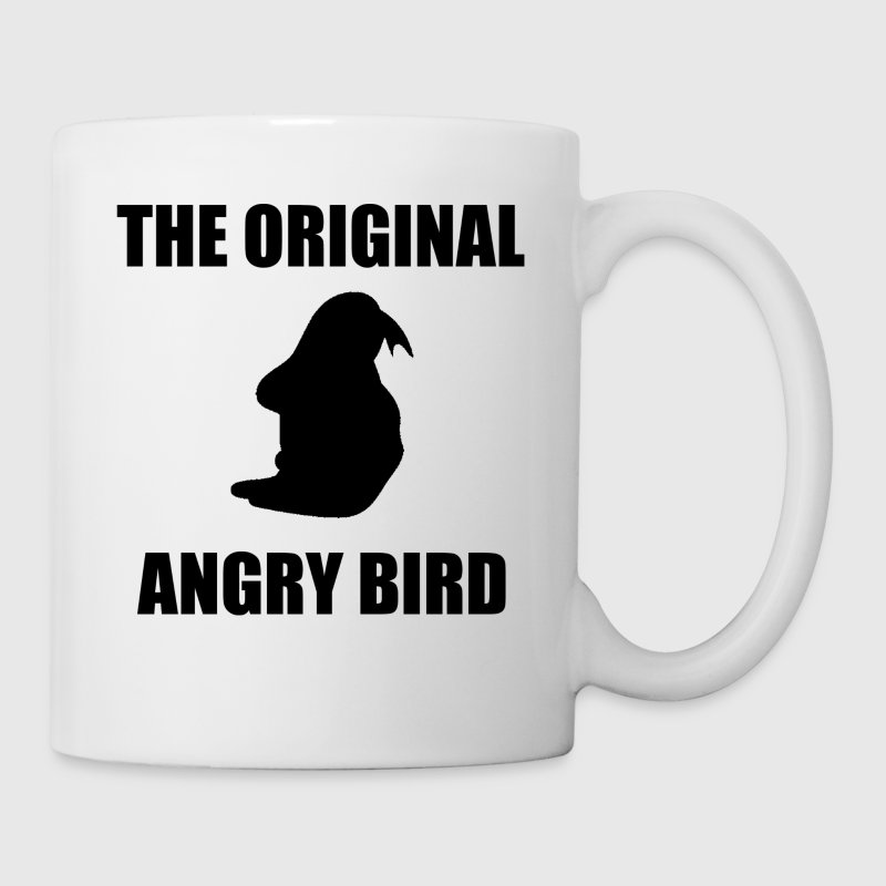 The Original Angry Bird Black Accessories - Coffee/Tea Mug