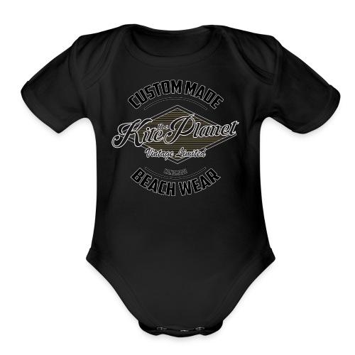 Kite The Planet Custom - Organic Short Sleeve Baby Bodysuit