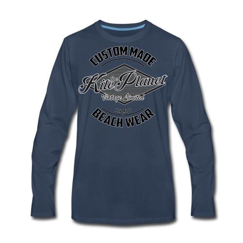 Kite The Planet Custom - Men's Premium Long Sleeve T-Shirt