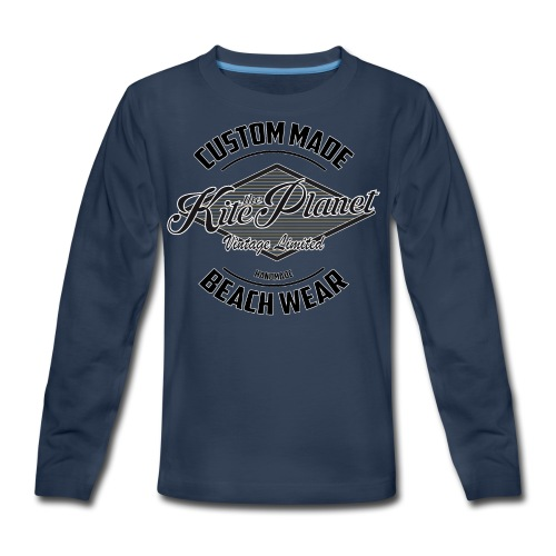 Kite The Planet Custom - Kids' Premium Long Sleeve T-Shirt