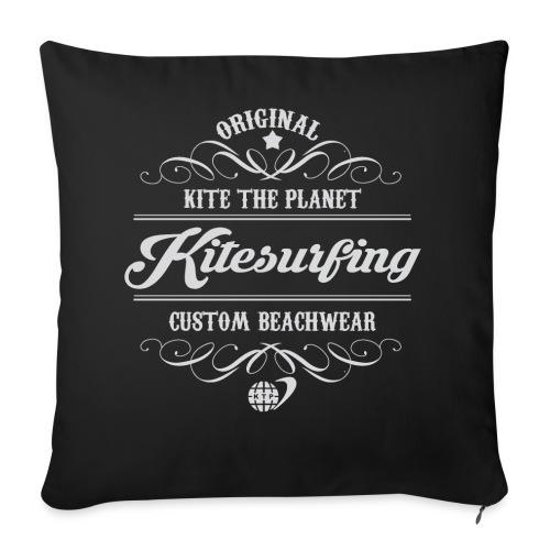 Kite The Planet Kitesurfing Custom - Throw Pillow Cover