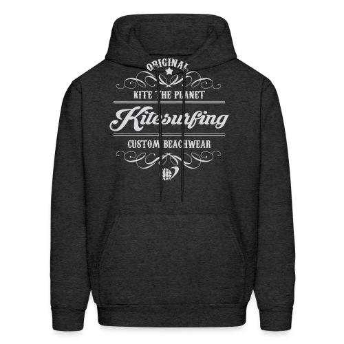 Kite The Planet Kitesurfing Custom - Men's Hoodie