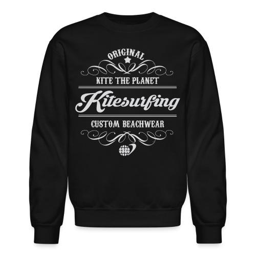 Kite The Planet Kitesurfing Custom - Crewneck Sweatshirt