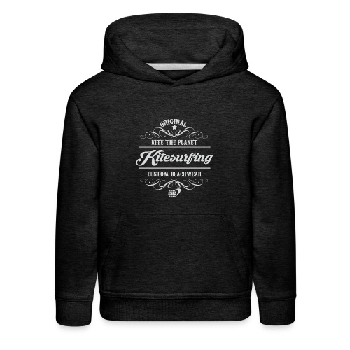 Kite The Planet Kitesurfing Custom - Kids' Premium Hoodie